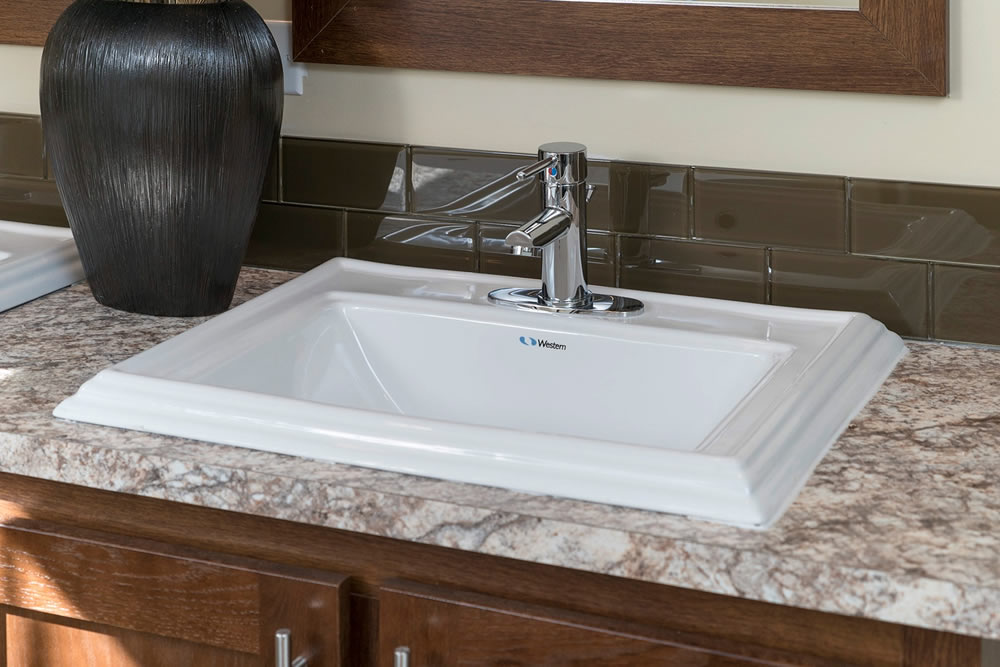 Radiant spa sink option